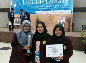 Mahasiswa UNTIRTA Raih Juara 2 Debat Bahasa Inggris Tingkat Nasional