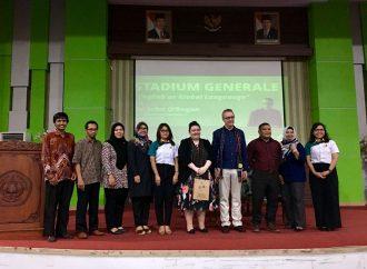 Jurusan Pendidikan Bahasa Inggris dan UPT PLI Mengadakan Stadium Generale