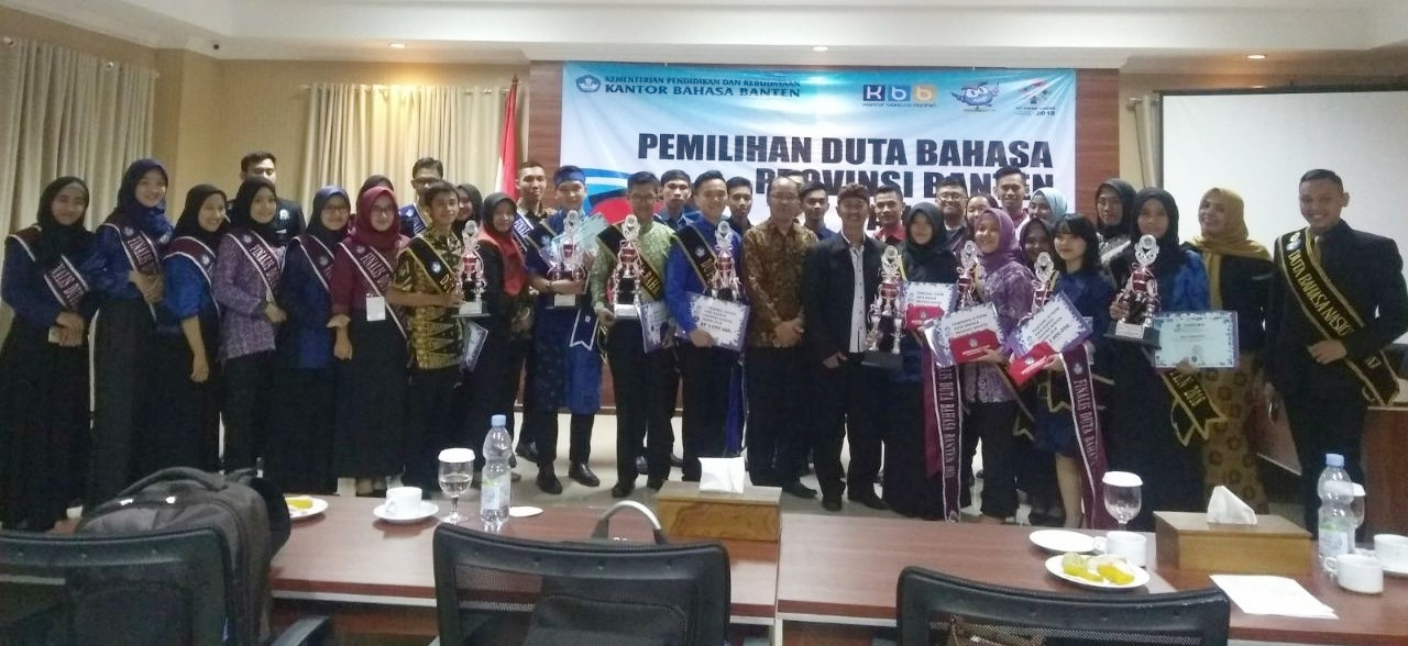 Mahasiswa FKIP Menjadi Duta Bahasa Provinsi Banten 2018
