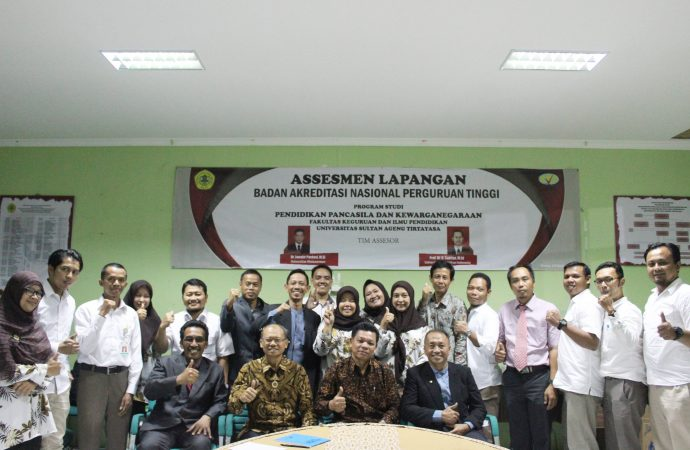 Jurusan PPKn Awali Bulan September dengan Visitasi Akreditasi
