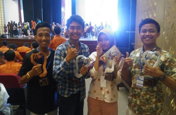 3 Mahasiswa FKIP UNTIRTA Raih Prestasi di PEKSIMINAS Yogyakarta