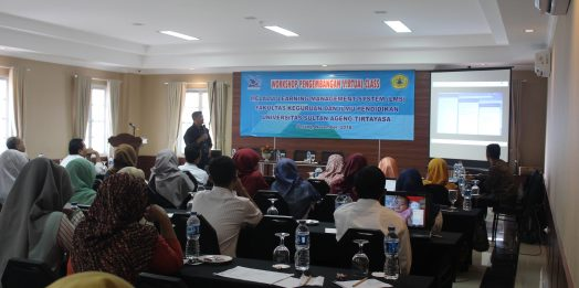 Workshop Pengembangan Virtual Class Melalui Learning Management System (LMS)