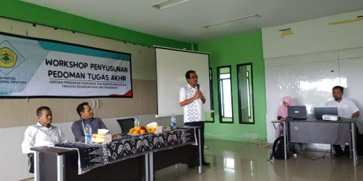 Workshop Penyusunan Pedoman Tugas Akhir Jurusan PPKn