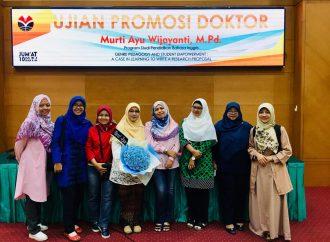 FKIP Tambah Doktor di Bidang Ilmu Bahasa