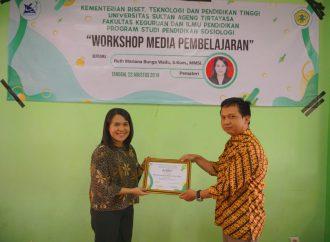 Workshop Media Pembelajaran Jurusan Pendidikan Sosiologi