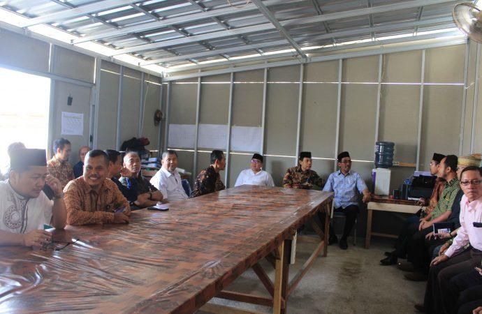 FKIP Untirta Menggelar Pengajian Jelang Pembangunan Masjid Kampus FKIP