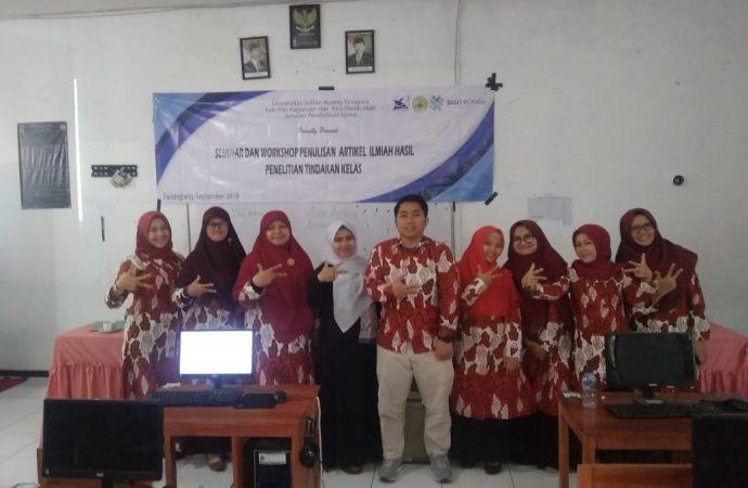 Jurusan Pendidikan Kimia Adakan Seminar dan Workshop di SMAN 1 Pandeglang