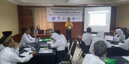 Pendidikan dan Pelatihan Penguatan Kepala Sekolah Kabupaten dan Kota Serang Prov. Banten