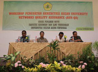 Mengejar Sertifikasi ASEAN, GPM FKIP Untirta Gelar Workshop AUN-QA