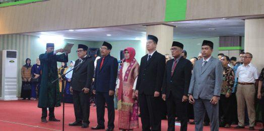 Pelantikan Dekan FKIP Oleh Rektor Untirta