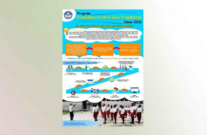 Program Profesi Guru Prajabatan Tahun 2020