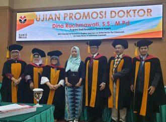 Selamat! Jurusan Pendidikan Bahasa Inggris Tambah Satu Doktor
