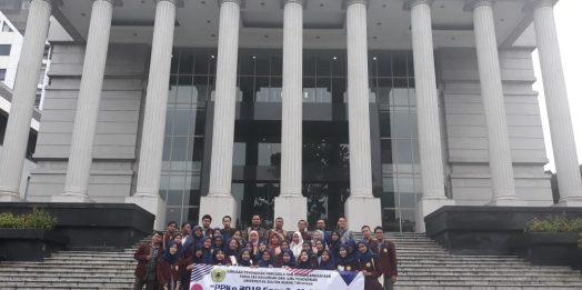 Mahasiswa Jurusan PPKN FKIP UNTIRTA Kunjungi Mahkamah Konstitusi