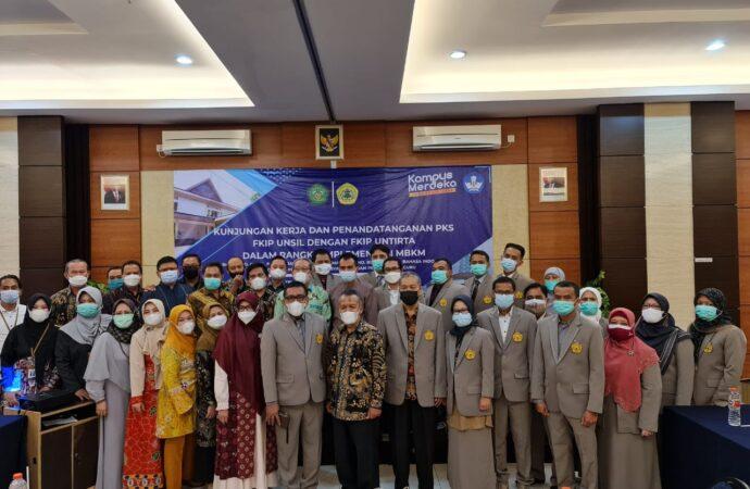 Kunjungan Kerja dan Penandatanganan PKS FKIP UNSIL dan FKIP UNTIRTA