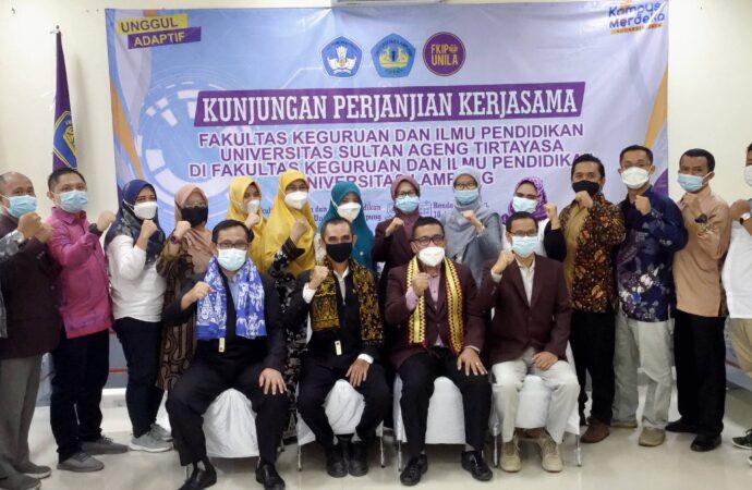Kunjungan Kerjasama FKIP UNTIRTA dengan FKIP UNILA